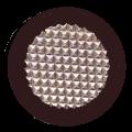 Black Diamond Stud Tactile Indicator