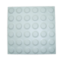 White Stud Ceramic Tactile Tile