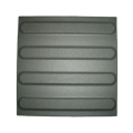 Black Strip Ceramic Tactile Tile
